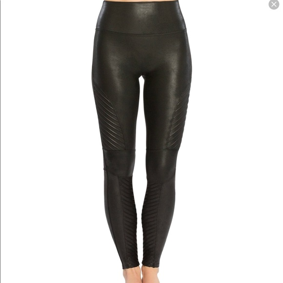 207c9738662c0 SPANX Pants | New Faux Leather Leggings Size Smallpetite | Poshmark